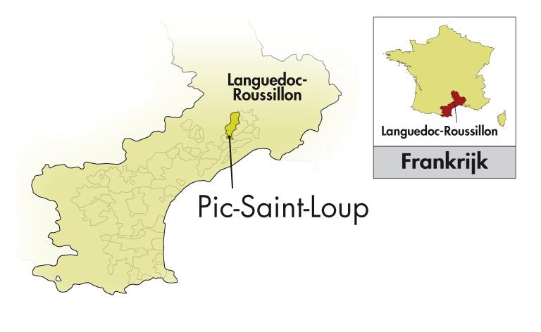 Château l'Euzière Pic Saint-Loup Les Escarboucles